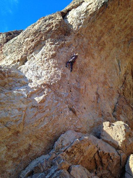 Rock Climbing Photo: Cliffdwellers- 13a.