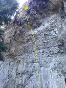 Rock Climbing Photo: Cinnamon Bay- 12c.