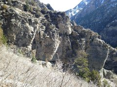 Rock Climbing Photo: West-facing Wall.