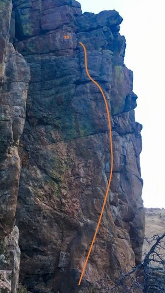 Rock Climbing Photo: Date Night!