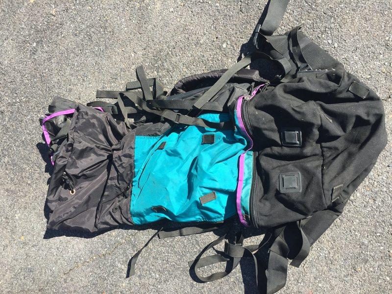 Rock Climbing Photo: Women's Pack