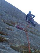 Rock Climbing Photo: Tim on Sundial