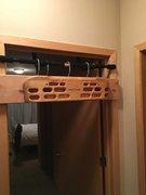 Hangboard set up