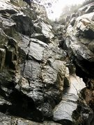 Rock Climbing Photo: Right side of Corpse Wall