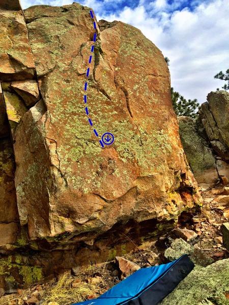 Rock Climbing Photo: The Main A-Traction.