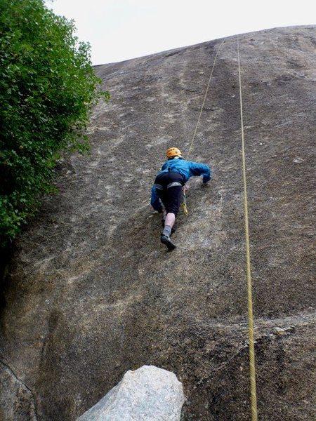 Rock Climbing Photo: Burilada - Carol gettin' her TR on
