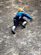 Rock Climbing Photo: Carol Petrelli gettin' Burilada done