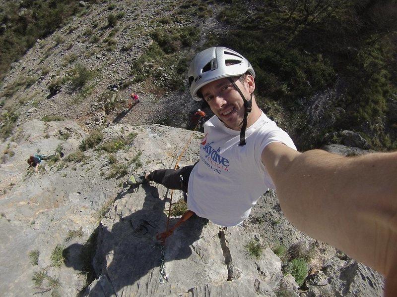 Rock Climbing Photo: Mat!