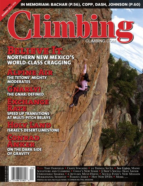 Climbing Magazine, Issue 278