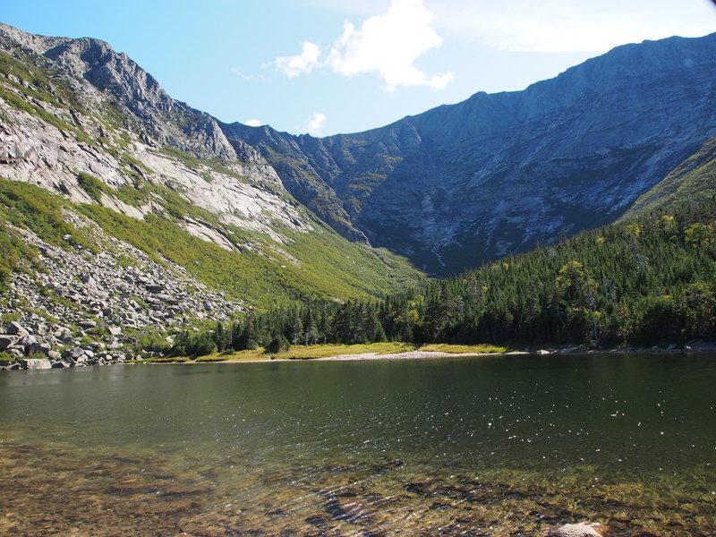 Rock Climbing Photo: Chimney Pond