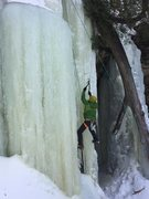Rock Climbing Photo: Potato Patch Falls 2/17/17