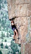 Rock Climbing Photo: Picture is actually Stiletto/Gold. The 1st large s...