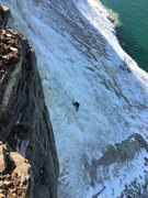 Rock Climbing Photo: Bridalveil Falls 2/17/17