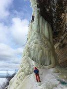 Rock Climbing Photo: Dairyland 2/16/17