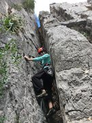 Rock Climbing Photo: Did it again this year, I start on the outside, bu...