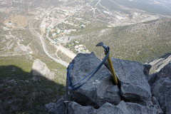 Rock Climbing Photo: The sword in the stone.