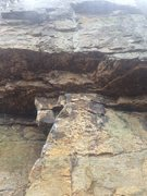 Rock Climbing Photo: Short and straightforward with a solid juggy roof ...