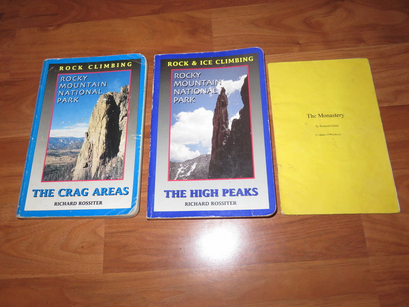 Rock Climbing Photo: Guide books