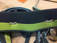 Rock Climbing Photo: Inside of harness rear. Note: the Edelrid Orion ha...