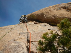 Rock Climbing Photo: first pitch