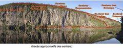 Rock Climbing Photo: Secteurs et sentiers