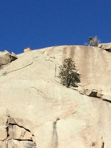 Rock Climbing Photo: Wide angle view.
