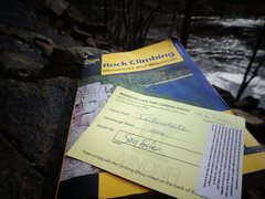 Annual State Park Climber Permit