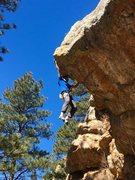 Rock Climbing Photo: Ben Scott getting after it.