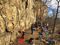 Rock Climbing Photo: Packed day!