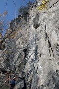 Rock Climbing Photo: View of the cliff