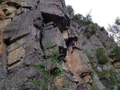 Rock Climbing Photo: Benoit Tremblay à l'ouverture