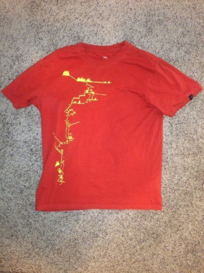 Rock Climbing Photo: Shirt