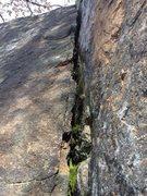 Rock Climbing Photo: Dihedral.