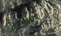 Rock Climbing Photo: Rough guide to approach
