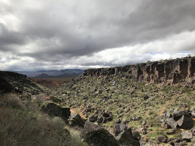 Rock Climbing Photo: Black Rocks