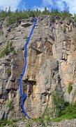 Rock Climbing Photo: La classique Sumac Grimpant