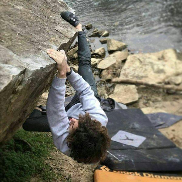 Rock Climbing Photo: No pockets, but still a fun route.