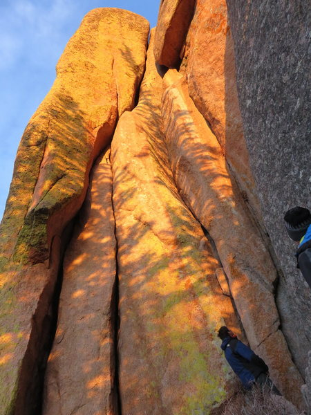 Rock Climbing Photo: Automotive Supply House on left, In the Groove on ...