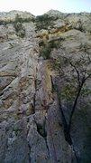 Rock Climbing Photo: After the lead! Really fun climb!