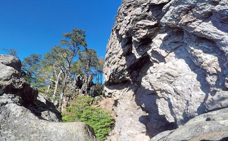 Rock Climbing Photo: Gumbies Go Home