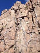 Rock Climbing Photo: A good view of the climb.
