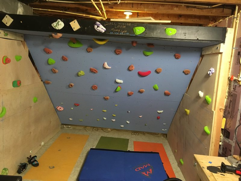 Rock Climbing Photo: About 6.5' tall, and an angle of about 55 degr...
