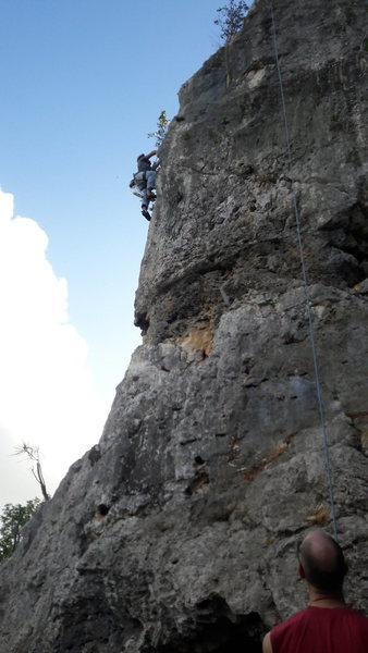 Rock Climbing Photo: Me.... Lol