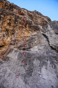 Rock Climbing Photo: Unknown New Route. 5.10c/d