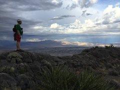 Rock Climbing Photo: Summit overlooking town.