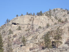 Rock Climbing Photo: View NNE from 2nd bench on trail #100 - Banded Wal...