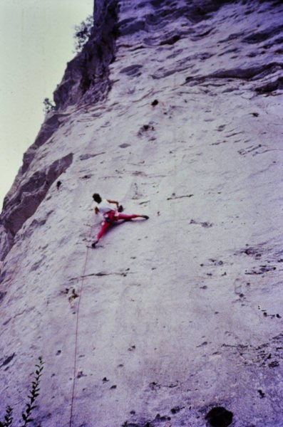 Rock Climbing Photo: Late 80's Lycra.