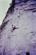 Rock Climbing Photo: Late 80's Lycra.
