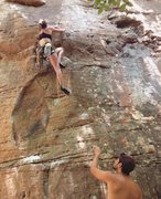 Rock Climbing Photo: Jungle Trundler 5.11a