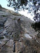 Rock Climbing Photo: well below the crux